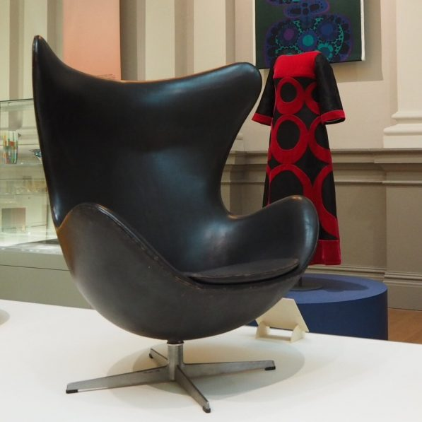 Egg Chair by Arne Jacobsen, Nordic Craft and Design exhibition