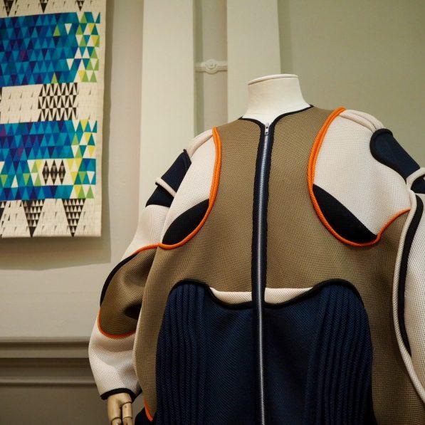 Boogie coat by Henrik Vibskov, Nordic Craft and Design exhibition