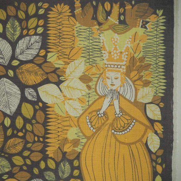 Swedish linen by Gota Tragardh, Nordic Craft and Design exhibition
