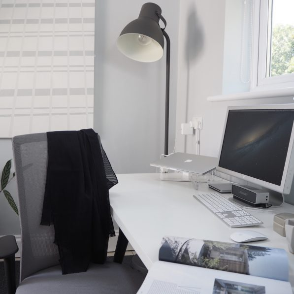 My Nordic Home Office Makeover