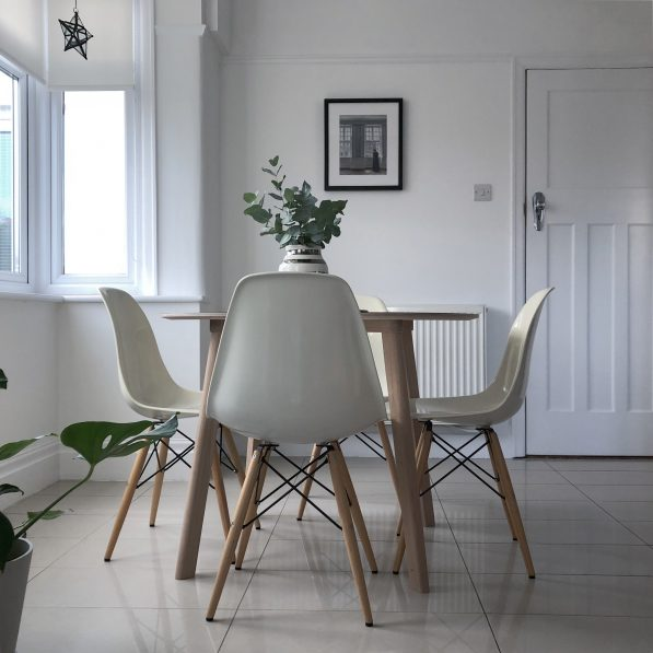 My Nordic family and dining room makeover