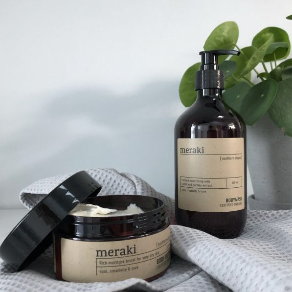 Winter skincare with Meraki