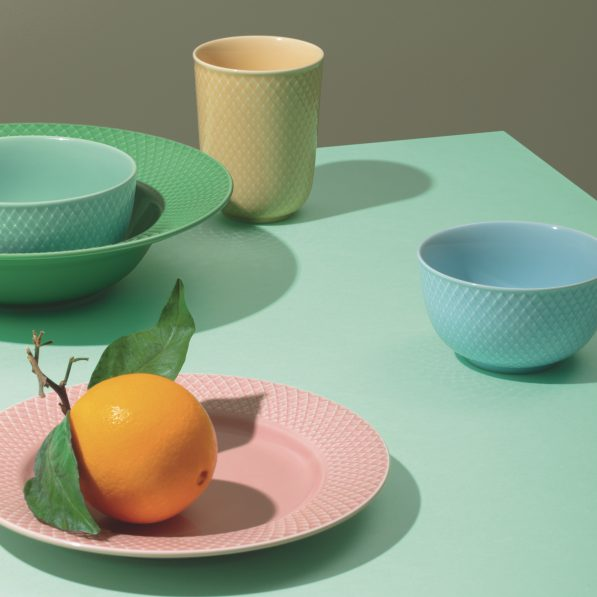 Rhombe Colour Collection from Lyngby Porcelain