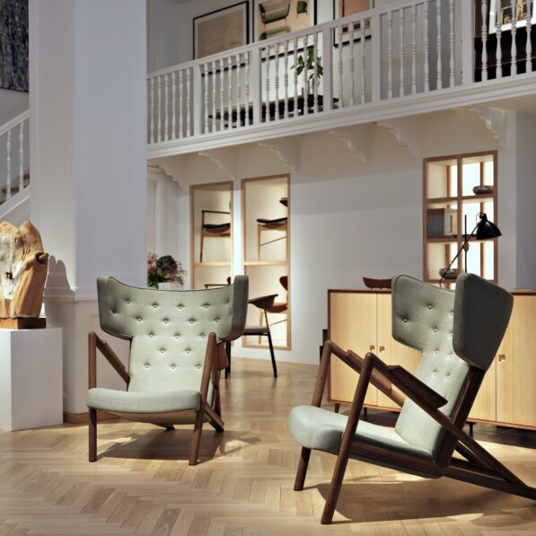 House of Finn Juhl - An historic new showroom and iconic designs