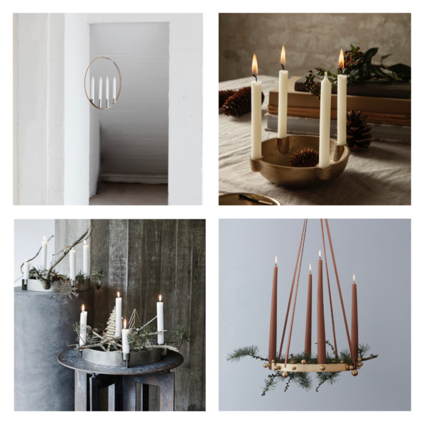 Nordic Inspiration – Festive feelings start with an Advent Wreath