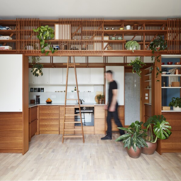 The Furniture Maker's Kitchen by H. Miller Bros