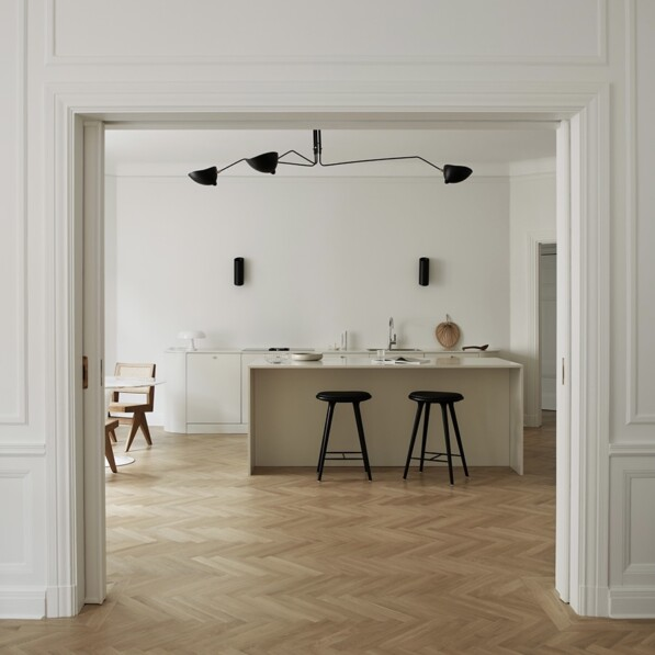 The Warm Minimalist Kitchen by Nordiska Kök
