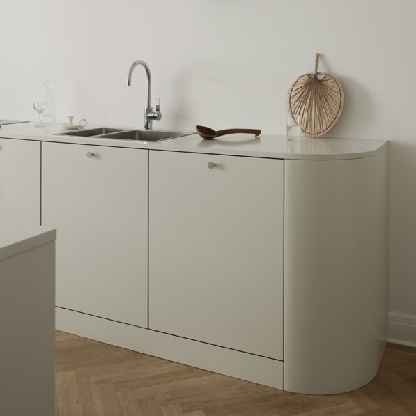 The Warm Minimalist Kitchen by Nordiska Kök
