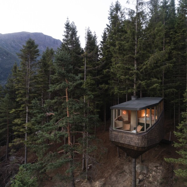 The Woodnest – Luxury treehouse living in Norway